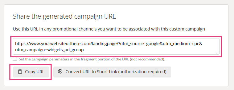 Google ads url builder 2