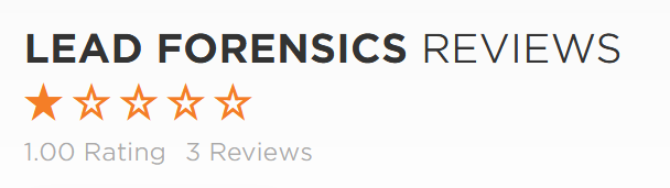 Lead Forensics Reviews view