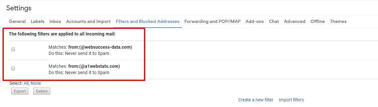 whitelist gmail 5